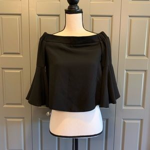 Topshop Off-Shoulder Blouse